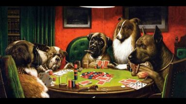 Dogs Playing Poker Painting 🐶The Story Behind Dogs Player Poker Painting