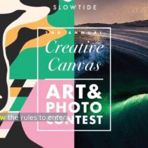 Slowtide Announces Creative Canvas Art Contest - Shop-Eat-Surf.com