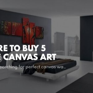 Where To Buy 5 Piece Canvas Art