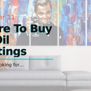 Where To Buy Art Oil Paintings