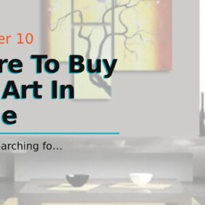 Where To Buy Wall Art In Barrie