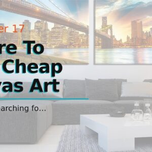Where To Find Cheap Canvas Art