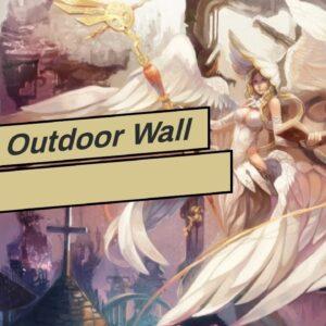 Angel Outdoor Wall Art