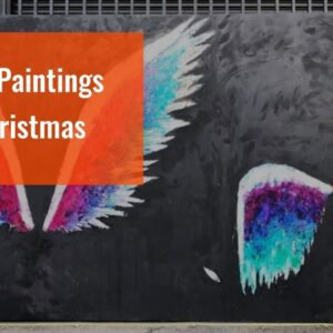Angel Paintings For Christmas