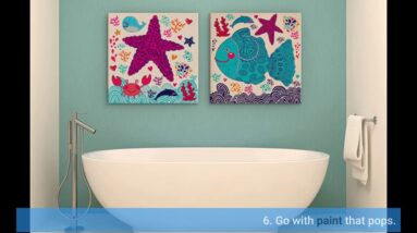 Bathroom Wall Art Modern