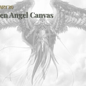 Fallen Angel Canvas Art