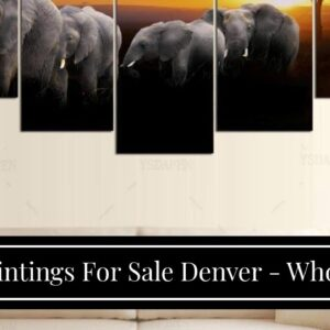 Oil Paintings For Sale Denver - Wholesale Price