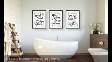What Is Good Bathroom Art