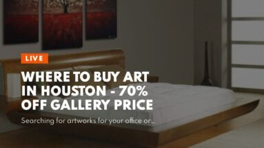 Where To Buy Art In Houston - 70% OFF Gallery Price